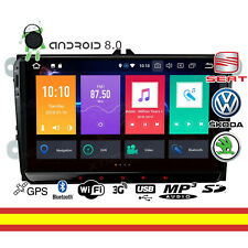 Autoradio VW Seat 9 pulgada  Android 8 Octacore 4GB RAM Wifi Bluetooth Mirroring