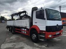 Flatbed Commercial Lorries & Trucks with Cranes