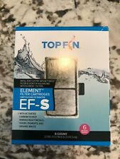 Authentic Top Fin Element Filter Carbon Cartridges EF-S 6 Month Supply, free sh