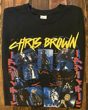 Chris Brown The Party Tour 2017 R&B Hip-Hop Concert T-Shirt Size Small