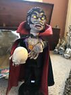 """Vintage Witch Time - """"Dracula"""" Halloween Animated Figure Figure Lights Up"""