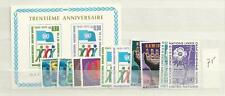 1975 MNH UNO Geneve year complete postfris**