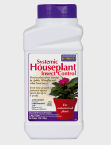 Bonide Systemic HOUSEPLANT INSECT CONTROL Plant Bug Ants Roaches Spiders 8oz 951
