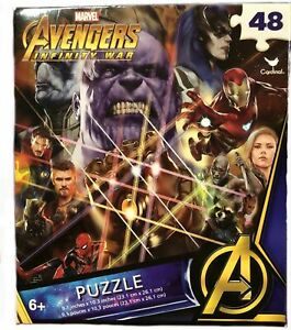 Marvel Avengers Infinity Wars Puzzle 48 Pieces New Factory Sealed
