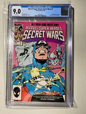CGC 9.0 Marvel Super Heroes Secret Wars # 7