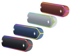 POPULAR SONY SRS-XB32 PORTABLE BLUETOOTH / NFC SPEAKER W/ LIGHTS & STROBES