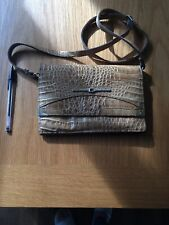 Quality vintage snakeskin Leather handbag Made In Italy
