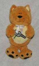 Kids II Stuffed Plush Orange Yellow Kitty Cat Kitten Violin Guitar Baby Toy