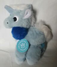 The ManhattanToy Company Plush Blue Unicorn Floppies - NWT