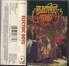 Funk-O-Metal Carpet Ride by Electric Boys (Cassette, 1990, Atco) USED
