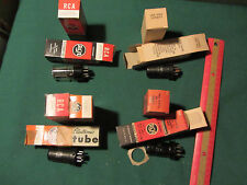 Vintage Lot of 9 12SN7GTA 12SG7Y 12SK7 12SH7 Electron Tubes untested