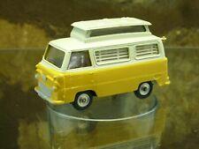 CLASSIC VINTAGE CORGI FORD THAMES AIRBORNE CARAVAN in Cream and Yellow