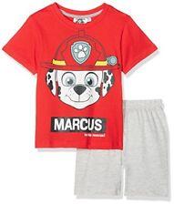 Pyjamas rouges à 8 ans pour garçon de 2 à 16 ans