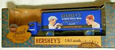 Ford 1937 Tractor Trailer Hershey's Almond Chocolate Ertl 1:43 Scale Die Cast