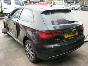 AUDI A3 8V S LINE CRLB ENGINE QSD GEARBOX LY9T BLACK - BREAKING PEDAL FOR SALE