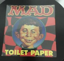 VINTAGE MAD MAGAZINE THEME TOILET PAPER ROLL, STILL SEALED In Box NEW RARE
