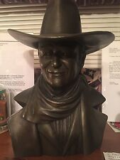 John Wayne Bronze Bust appraised by antique road show specialist for over $2500
