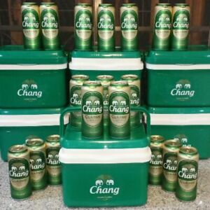 7 Liters Chang Beer Cooler Collectible Brand New from Thailand Rare Item