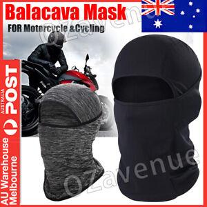 Full Face Mask lycra Balaclava Windproof Thin Motorcycle Cycling Ski Mask