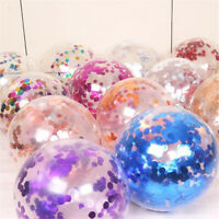 8pcs 12inch Sequins Birthday balloon Multicolored party romantic decoration