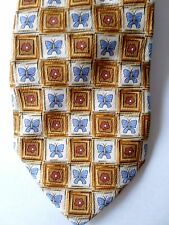 Mondo UOMO Handmade Silk Tie Made In Italy Butterfly Long 60""