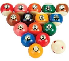 Aramith TV Tournament Pool Balls Set  DURAMITH Technology -TV Colors -Pink & Tan