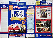 1996 Star Wars Canadian Bran Flakes Cereal Box unused factory Flat s269