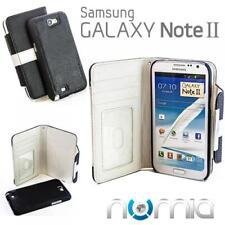2in1 Schutz Hülle Samsung N7100 Galaxy Note 2 II Schwarz-Weiss Handy Cover Etui