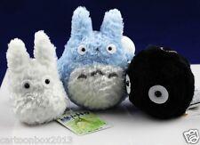 My Neighbor Totoro Blue-totoro White-totoro Black-Soot-totoro Plush(a Set of 3)