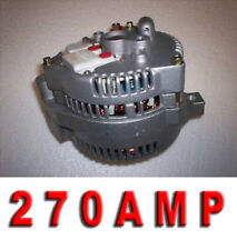FORD MUSTANG ONE WIRE 3G LARGE CASE HIGH AMP ALTERNATOR Generator Bronco Pickup