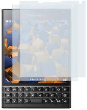 mumbi 2x Folie für Blackberry Passport Schutzfolie klar Displayschutz Hülle