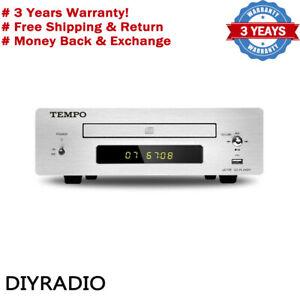 SHANLING TEMPO eC1B HIFI CD Player Home Mini DVD Player Lossless WAV Turntable -