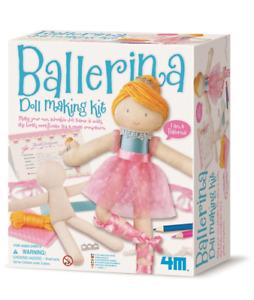 4M - Ballerina Doll Making Kit