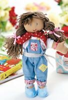 Ragdoll with Removeable clothes 52cm Full Instructions Sewing Pattern
