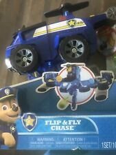 Paw Patrol Flip & Fly Chase Transforming Vehicle with Launchers