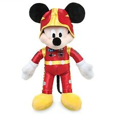 "DISNEY STORE MICKEY & THE ROADSTER RACERS PLUSH MICKEY MOUSE 9 1/2"" NWT"