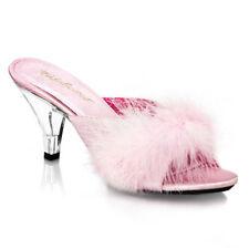 Stiletto Satin Standard Width (D) Casual Heels for Women