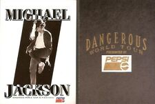 MICHAEL JACKSON DANGEROUS WORLD TOUR PEPSI CARD