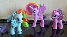 "My Little Pony Bundle - X3 Pony's In Total (X2 Approx 3"" & X1 Approx 4"") - VGC"