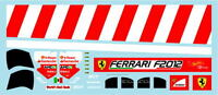 F1 DECALS MUSEUM COLLECTION D669 1/43 FERRARI F2012 ADDITIONAL LOGO