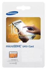 Memory card Samsung per cellulari e palmari Classe 10 con 16 GB di archiviazione