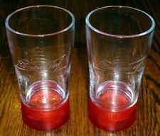 Budweiser Game Goal Synced Red Light Glasses - Set of 2