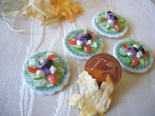 =1 gemischter SALAT griechischer Art= Puppenküchenminiatur 1:12 / 1:10 by HW
