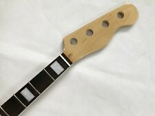 Canadian Maple 20 Fret bass guitar Neck Replacment rosewood fingerboard nut 38mm