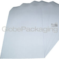 100 x C4/A4 PLAIN WHITE SELF SEAL ENVELOPES 90gsm SS
