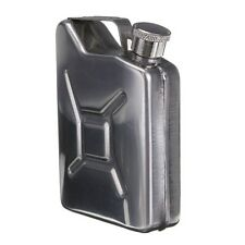 5oz Stainless Steel Jerry Can Hip Flask LiquorWhisky Pocket Bottle without Funne