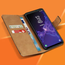 Handyhülle für Samsung Galaxy S9 Plus Schutzhülle Tasche Leder Flip Case Cover