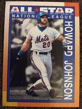 1990 TOPPS HOWARD JOHNSON All Star Baseball Card, NY METS!