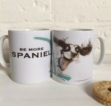 Spaniel Mug Cartoon Shooting/ Gift Idea/ Christmas/ Dog Lovers Gift