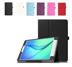 """UK PU Leather Smart Case Cover For Samsung Galaxy Tab A 9.7"""" inch SM-T550/T555"""